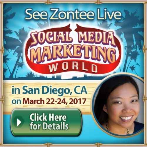 Zontee Hou at Social Media Marketing World 2017
